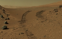 Even as the NASAPersevere rover closes in on Mars for its Feb  landing the Mars Curiosity rover continues to explore