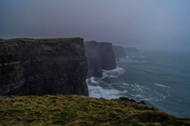 Even in the rain the Cliffs of Moher are stunning  x