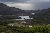 Even on a rainy day Ireland is stunning -- Ladies View Kerry OC