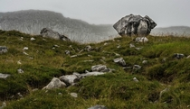Even the rocks were crying because of the weather - Aravis