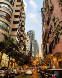 Evening in Beirut