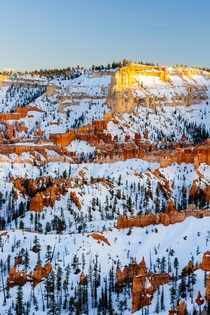Evening light in Bryce Canyon UT