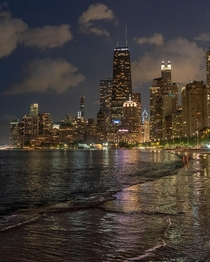 Evenings by the lakefront Chicago US
