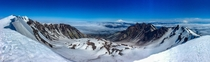 Ever wonder what the top of Mt St Helens looks like Mt Baker and Mt Rainier in the distance OC x IG nationalparksandrecreation