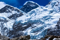 Everest Summit from Camp Nepal