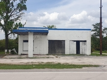 Everglades Florida notice  toilets bottom left former gas station