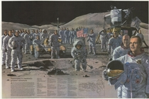Every Apollo astronaut represented in one high-res illustration