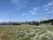 Every mountain top is within reach if you just keep climbing Grand Teton USA