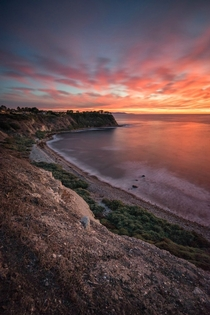 Everyone seems to have a seascape phase Guess I should start mine Palos Verdes CA