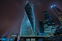 Evolution Tower Moscow Russian