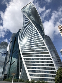 Evolution Tower Moscow Tony Kettle