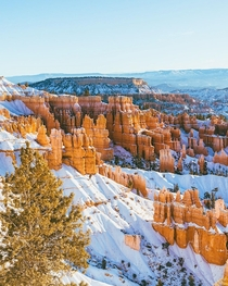 Experiencing Bryce Canyon in the winter was completely worth the freezing temperatures