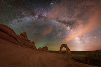 Experiencing the night skies in southern Utah was on my bucket list for a while and I captured this panorama of the Milky Way to share the view