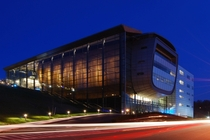Experimental Media amp Performing Arts Center EMPAC  RPI my college in Troy NY by Grimshaw Architechts