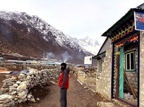 Explore the remote village of Khumbu located about m above Namche Bazar called Dingboche used to be a settlement for yak grazing in the past