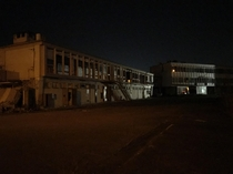 Explored an abandoned chemical factory this night Damn it was scary