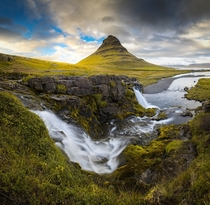 Exploring Iceland is like wandering the set of an epic fantasy movie I couldnt resist the classic shot from Kirkjufellsfoss