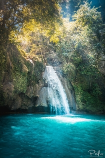 Exploring the Kawasan Falls located on Cebu Island in the Philippines right before the tourists got there