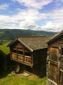 Exploring the Maihaugen Museum villages Lillehammer Norway