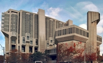 Extreme Brutalism - the Robarts Library at U of T by Mathers amp Haldenby Architects