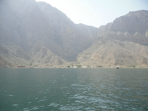 Extremely isolated village of Shim Kumzari Region Oman Population estimates of  at most