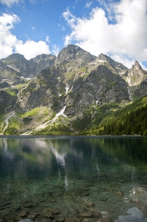 Eye of the Sea - Tatra Mountains Zakopane Poland  OC