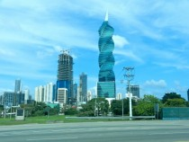 F amp F Tower formerly Revolution Panama City Panama designed by Pinzn Lozano