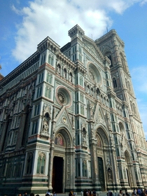 Facade of the Santa Maria del Fiore