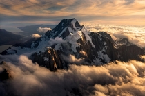 Face to face with the tallest mountain in New Zealand Aoraki Mt Cook OC x williampatino_photography