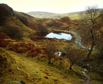 Faerie Glen in the Isle of Skye Scotland