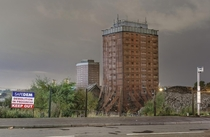 Failed demolition of the Red Road Flats x-post from rglasgow  x