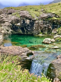 Fairy pools Scotland summer x