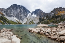 Fall Colors at Colchuck Lake Washington
