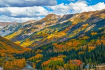 Fall Colors at Red Mountain Pass San Juan Mountains Colorado  by Rick Louie x-post rUnitedStatesofAmerica