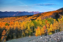 Fall Colors from Ohio Pass CO  ryanwrightphoto