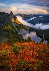 Fall Colors in the North Cascades Washington State  by Bryan Swan