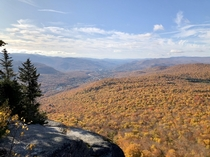 Fall colors in the White Mountains NH -