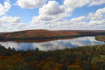 Fall Colours in Algonquin Park ON Canada