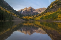 Fall in Colorado is really something amazing Maroon Bells in Aspen - Chris Hatfield