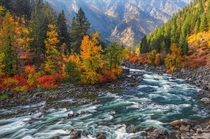 Fall in Leavenworth Washington Photo by Aaron Reed