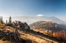 Fall in Piatra Craiului Mountains Romania