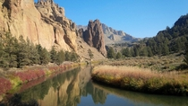 Fall in Smith Rock Oregon