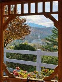 Fall in Stowe Vermont USA