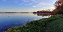 Fall Morning Barnstable Bay Lake Simcoe ON Canada OC  x