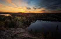 Fall settling in - Manitoba Canada -