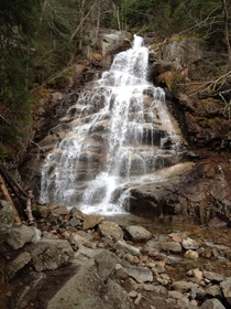 Falling Waters trail Franconia Notch NH