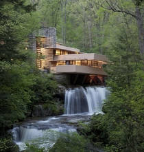 Fallingwater House USA - by Frank Lloyd Wright