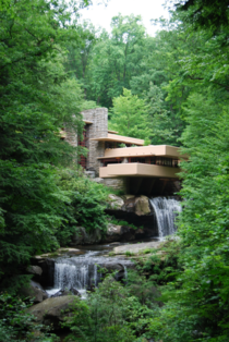 Fallingwater PA USA designed by Frank Lloyd Wright