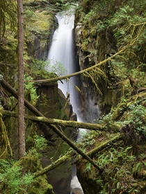 Falls on Cypress Creek West Vancouver BC Canada
