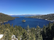 Fannette Island Emerald Bay in beautiful Lake Tahoe